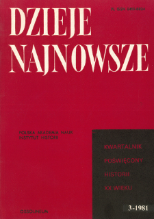 Z dziejów polityki pruskiej na Górnym Śląsku w latach 1914-1918