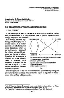 The geometries of three ancient kingdoms