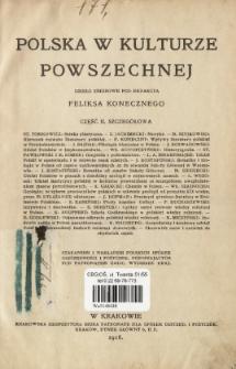 Polska w kulturze powszechnej : dzieło zbiorowe. Cz. 2, Szczegółowa