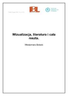 Wizualizacja, literatura i cała reszta
