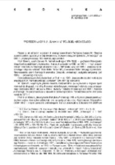 Archeologia Polski Vol. 53 (2008) No 1, Kronika