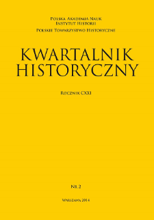 Kwartalnik Historyczny R. 121 nr 2 (2014), Komunikaty : Nagroda im. Profesora Stanisława Herbsta