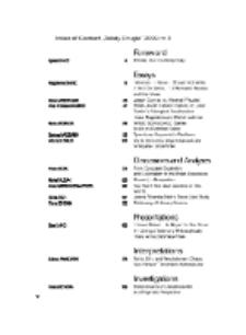 Teksty Drugie Nr 3 (2009), Index of Content