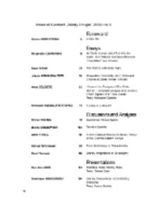 Teksty Drugie Nr 4 (2009), Index of Content