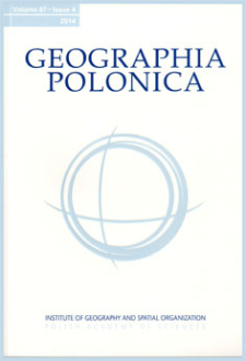 The people of Geographia Polonica, 1964-2013