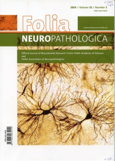Folia Neuropathologica : former Neuropatologia Polska. Vol.52 (2014) nr 1