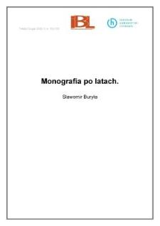 Monografia po latach