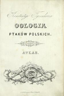 Konstantego Tyzenhauza Oologia ptaków polskich : atlas