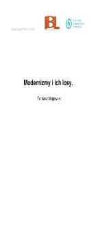 Modernizmy i ich losy
