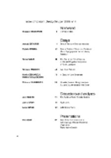 Teksty Drugie Nr 4 (2008), Index of Content