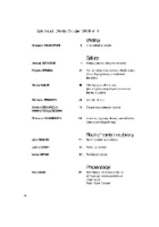 Teksty Drugie Nr 4 (2008), Spis treści