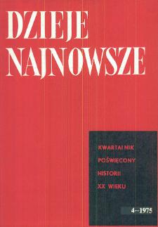 Przemiany społeczno-ustrojowe w Polsce na przełomie wojny i pokoju