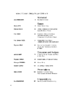 Teksty Drugie Nr 5 (2008), Index of content