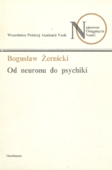 Od neuronu do psychiki