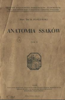 Anatomia ssaków. T. 4