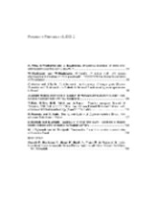 Fragmenta Faunistica - Spis treści vol. 49, no. 2