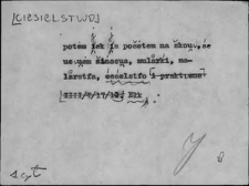 Kartoteka Słownika Gwar Ostródzkiego, Warmii i Mazur; Ciesielstwo - Co1