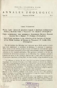 Materiaux pour la connaisance des Orthoptères paléarctiques. Materiały do znajomości Orthoptera Palearktyki. 1/2, Dwa nowe gatunki z rodzaju Tetrix LATR. 1/2, Deux espèces nouvelles du genre Tetrix LATR. =