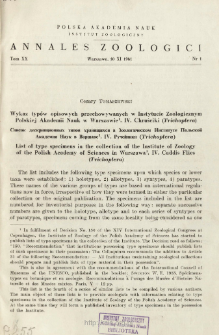 Materialien zur Kenntnis der paläarktischen Zonitidae (Gastropoda). Materiały do znajomości palearktycznych Zonitidae (Gastropoda)