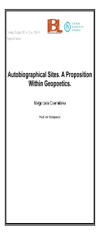 Autobiographical Sites. A Proposition Within Geopoetics