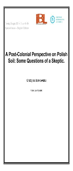 A Post-Colonial Perspective on Polish Soil: Some Questions of a Skeptic