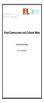 Post-Communism and Cultural Wars