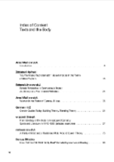 Teksty Drugie Vol. 1 (2013) - Special Issue - English Edition, Index of content