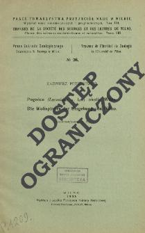 Z badań nad mikropterygizmem Operophthera brumata L. (Lepid.) = On the micropterism by Operophthera brumata L. (Lepid.)