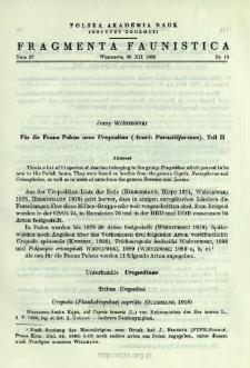 Für die Fauna Polens neue Uropodina (Acari: Parasitiformes). T. 2