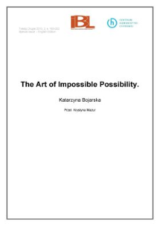The Art of Impossible Possibility
