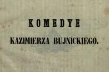 Komedye prozą i wierszem