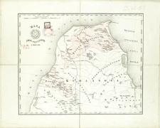 Mapa Ziemi Piltyńskiej z roku 1747