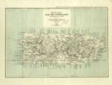 Mapa de la isla de Puerto-Rico