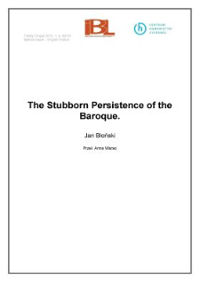 The Stubborn Persistence of the Baroque