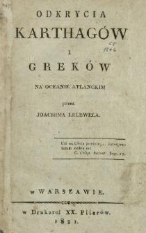 Odkrycia Karthagów i Greków na Oceanie Atlanckim