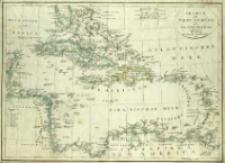 Charte von West-Indien oder den Antillischen Inseln