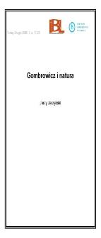 Gombrowicz i natura