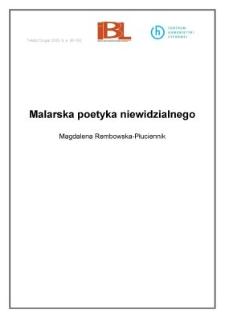 Malarskapoetykaniewidzialnego