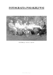 [a family party in the garden] [An iconographic document]