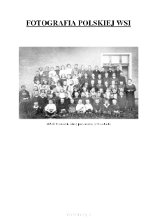[The pupils of the elementary school in Pasierby] [An iconographic document]