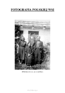 [An elderly woman and a couple] [An iconographic document]