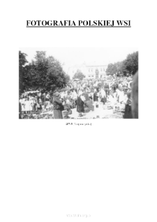[A market at the square] [An iconographic document]