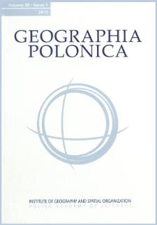Geographia Polonica Vol. 88 No. 1 (2015), Contents