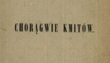 Chorągwie Kmitów : powieść z XVII wieku na tle prawdziwych zdarzeń osnuta