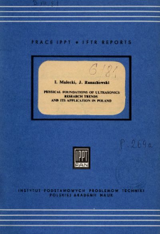 Physical foundations of ultrasonics research trends and its application in Poland