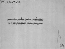 Kartoteka Słownika Gwar Ostródzkiego, Warmii i Mazur, Powiastka - Profesorka