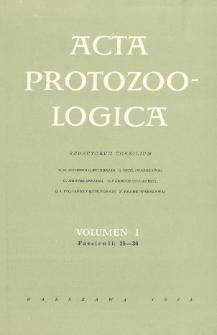 Acta Protozoologica, Vol. I, Fasc. 25-30