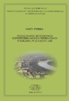 Przekształcenia przestrzennego rozmieszczenia zasobów mieszkaniowych w Warszawie w latach 1945-2008 = Transformation of spatial distribution of housing resources in Warsaw in the period 1945-2008