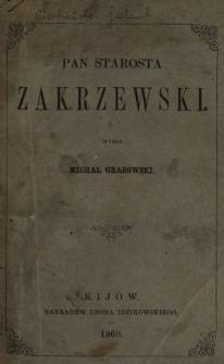 Pan starosta Zakrzewski