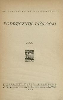 Podręcznik biologji